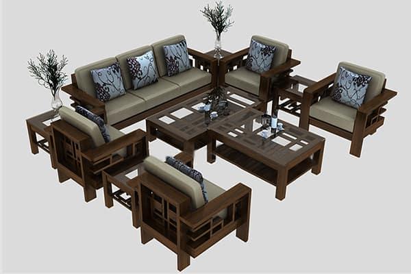 Cách nhận biết giá cả của một bộ đệm ghế gỗ trên thị trường